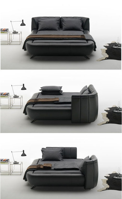 Mobile Headboards Split Beds into Soft Sofas & Solo Spaces | Curation, Gamification, Augmented Reality, connect.me, Singularity, 3D Printer, Technology, Apple, Microsoft, Science, wii, ps3, xbox | Scoop.it