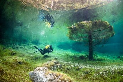 L'extrême en vidéo : un lac cristallin engloutit un parc naturel   Underwater   Scoop.it