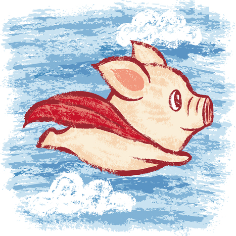 Imagine A Flying Pig: How Words Take Shape In The Brain - WNIJ & WNIU | Magic Words | Scoop.it