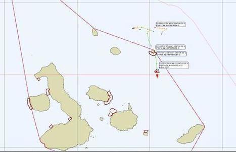 La Dirección del Parque Nacional Galápagos captura embarcación manteña dentro de la Reserva Marina de Galápagos. | Facebook | Agua | Scoop.it