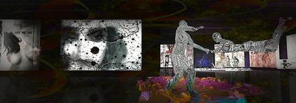 """exhibition  -  Somewhere in sl 740 (Nitroglobus Gallery, Costa Blanco (198, 111, 770)) """"Long Way Down"""" pictures by Ini Inaka - August-September 2014 at Nitroglobus Gallery  - OPENING  Sunday 31 Aug... 