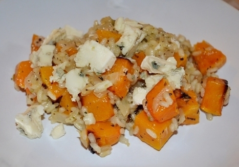 Butternut and Roquefort Cheese Risotto | Healthy Recipes | Scoop.it