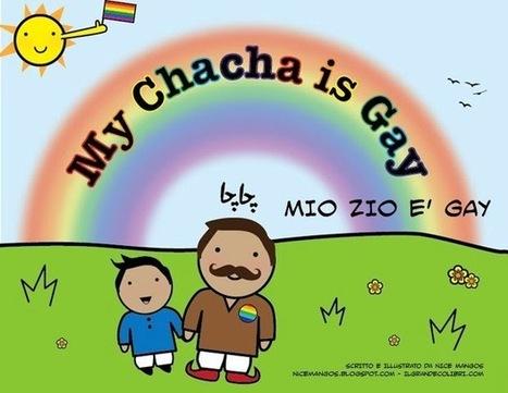 """""""Lo zio è gay"""": illustrazioni per i bambini del Pakistan   Gay Italia   Scoop.it"""