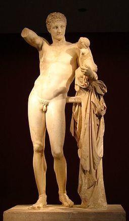 Ernst Curtius: desenterrando al Hermes de Praxíteles | LVDVS CHIRONIS 3.0 | Scoop.it