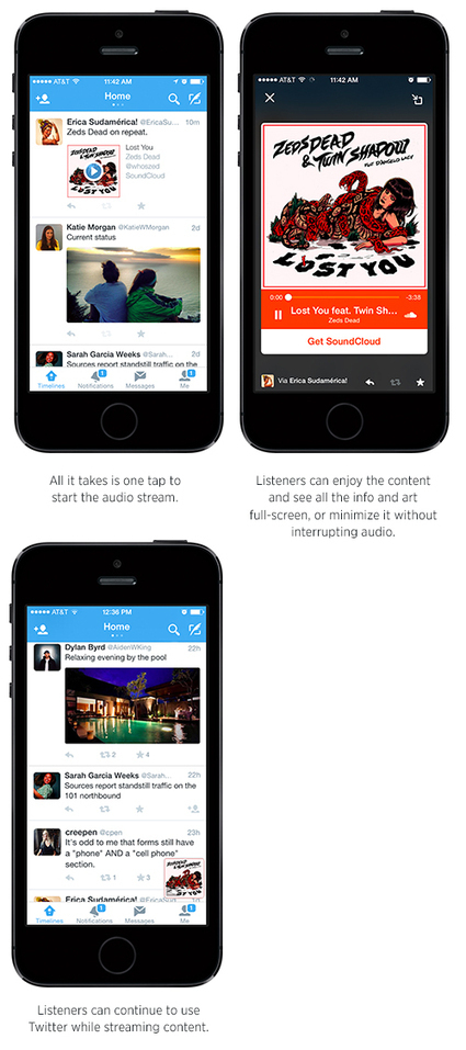 Twitter's New Audio Cards Play Music Right from Your Timeline | Mobile internet trends | Scoop.it