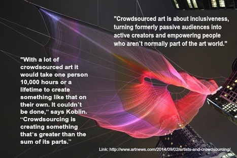 All Together Now: Artists and Crowdsourcing | ARTnews | Crowdsourcing | Scoop.it