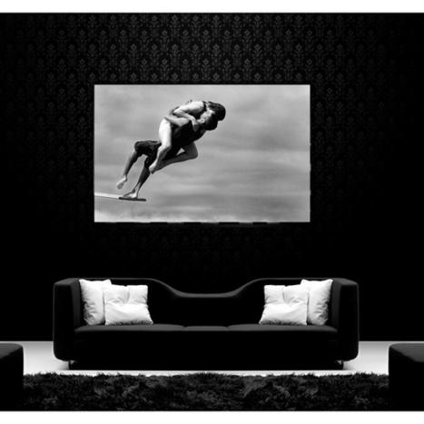 Tableau Photo Déco Plongeons ensemble - ArtWall and Co   Décoration maison intérieure et extérieure   Scoop.it