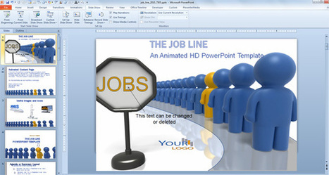Animated PowerPoint Templates for Employee Recognition and Job Opportunities | PowerPoint Presentation | powerpoint | Scoop.it