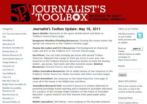 The Journalist's Toolbox | Top sites for journalists | Scoop.it