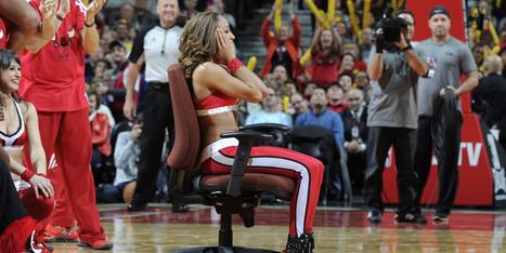 LOOK: Bulls Cheerleader Gets The Surprise Of A Lifetime During Heat Game | Cheerleading | Scoop.it