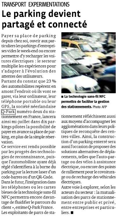 Le Progrès   Grande enquête Q-Park Les Français et le stationnement   Scoop.it