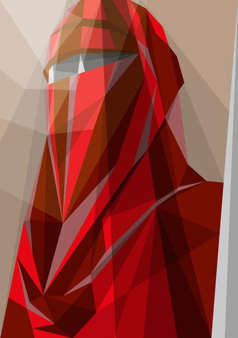 Geometric Pop Culture Illustrations - My Modern Metropolis   Art et Culture   Scoop.it