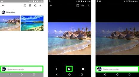 Comment ajouter un commentaire dans Google Photos ?   Bulleet   Freewares   Scoop.it