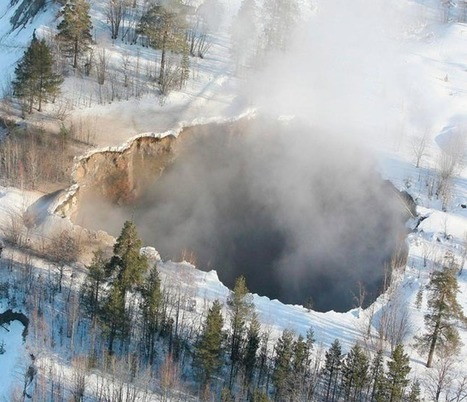 Sweden : 200 ft wide hole opens up in Malmberget | The Blog's Revue by OlivierSC | Scoop.it