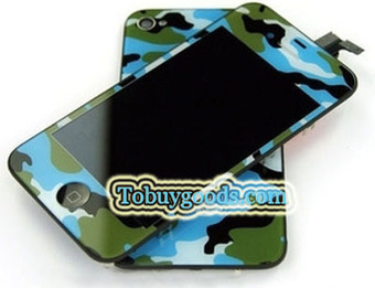 iPhone 4S Navy Uniform Pattern Conversion Kits LCD Assembly Repair Parts - Green With Logo (4S Only)   here are some good goods form tobuygoods   Scoop.it
