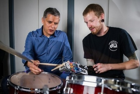 Cyborg Drumming Arm Makes Amputee Into Superhuman Musician - IEEE Spectrum | DigitAG& journal | Scoop.it
