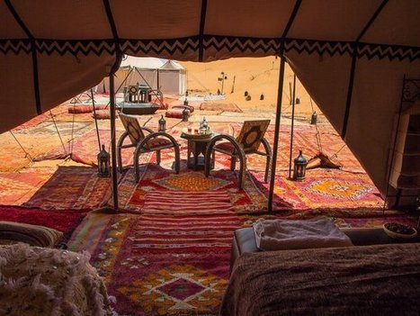 Luxurious and Comfortable Desert Camping Facilities In Erg Chebbi   sahara desert tours Morocco   Scoop.it