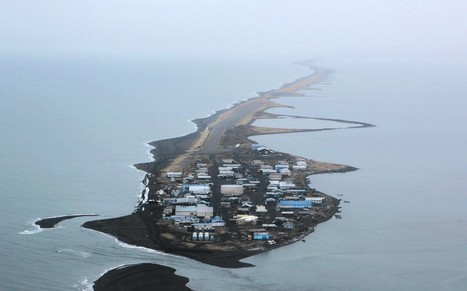 This is climate change: Alaskan villagers struggle as island is chewed up by the sea | Sustain Our Earth | Scoop.it