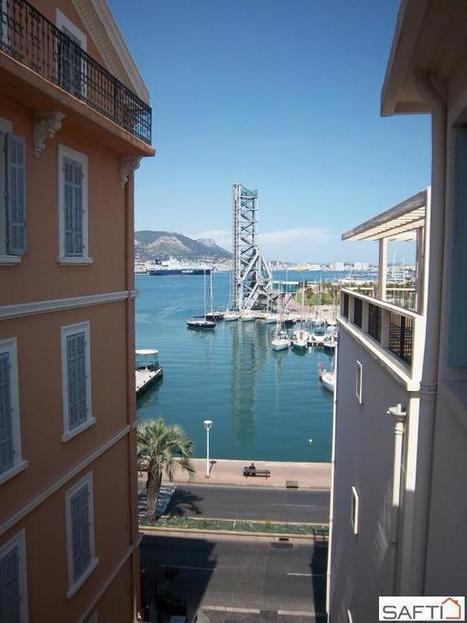 Grand T2 en dernier étage avec vue sur le port | Mathieu BLONDEL Immobilier | Scoop.it
