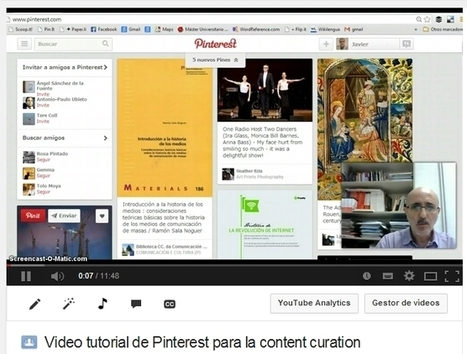 Tutoriales de Scoop.it y Pinterest para la content curation | Los Content Curators | Contenidos digitales | Scoop.it