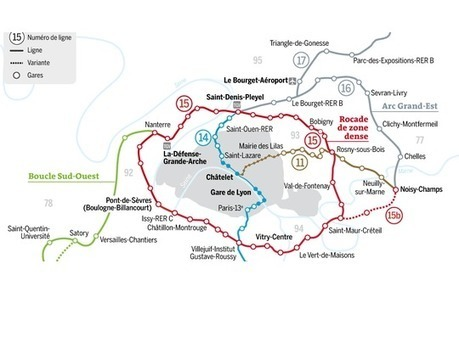 Grand Paris : 200 km de métro, 72 gares d'ici à 2030 | Futur et espérance | Scoop.it