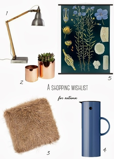 Happy Interior Blog: 5 Happy Inspirations: An Autumn Shopping List | Interior Design & Decoration | Scoop.it