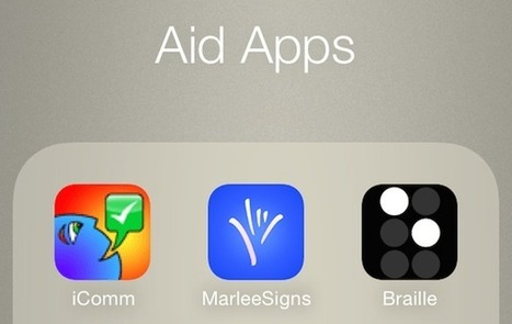 5 Great, Free iPhone Apps To Aid the Disabled | iGeneration - 21st Century Education | Scoop.it