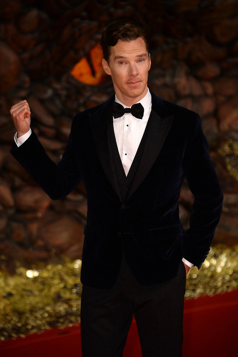 Benedict Cumberbatch at the European Premiere of The Hobbit | Benedict Cumberbatch News | Scoop.it