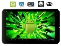 Wespro MC715 is the latest 7 inch tablet with Android ICS. | ideas | Scoop.it