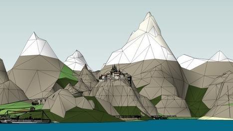 Eneroth Fractal Terrain Eroder- Plugin for SketchUp | SketchUp Library | Scoop.it