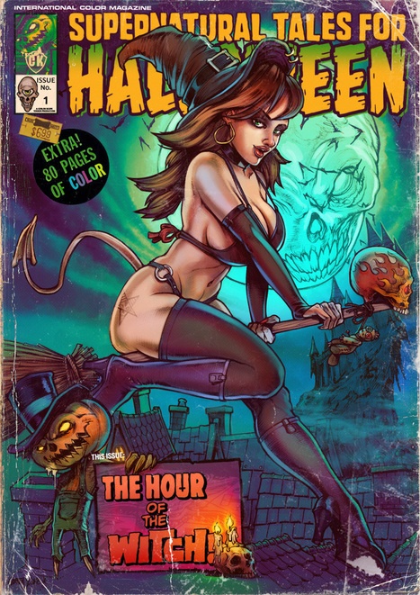 Supernatural Tales for Halloween by ~WacomZombie | Mister_Zombie Z | Scoop.it