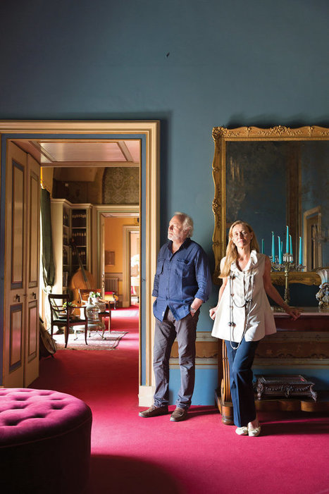 The Vibrant Makeover of a Medieval Palace | Interior Design - Interiorisme | Scoop.it