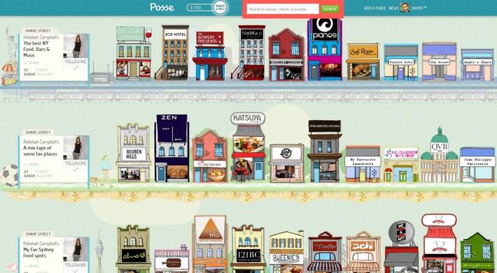 Posse, le réseau social entre Yelp, Foursquare et Pinterest | TIC et TICE mais... en français | Scoop.it