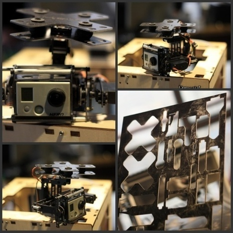 3ders.org - Build a HEX air robot on a 3D printer | 3D Printing news | Robot & AI | Scoop.it
