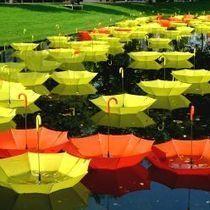 A incrível arte com guarda-chuvas   Minilua   questões contemporâneas   Scoop.it