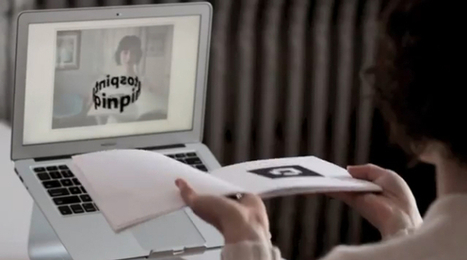 Digital pop-up book gets poetic with QR codes - CNET | QR Codes in Education | Scoop.it