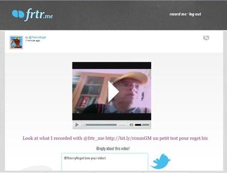 Service pour envoyer des vidéos sur twitter : frtr.me | Time to Learn | Scoop.it