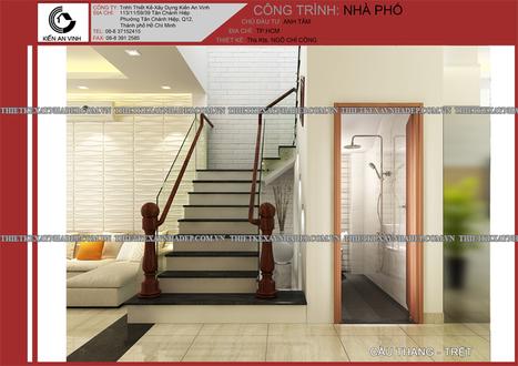 Mẫu thiết kế biệt thự phố 3 tầng đẹp sang trọng tại Quận 7 | ban buon quan ao tre em xuat khau | Scoop.it