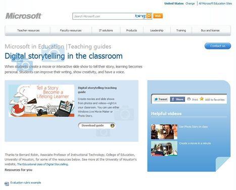 """Handleiding """"Digital storytelling in de klas"""" met Windows Live Movie Maker of Photo Story   Mediawijsheid in het VO   Scoop.it"""