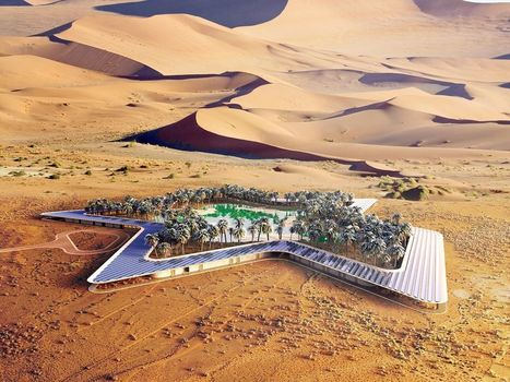 Un hôtel écologique construit au cœur du désert | Dans l'actu | Doc' ESTP | Scoop.it