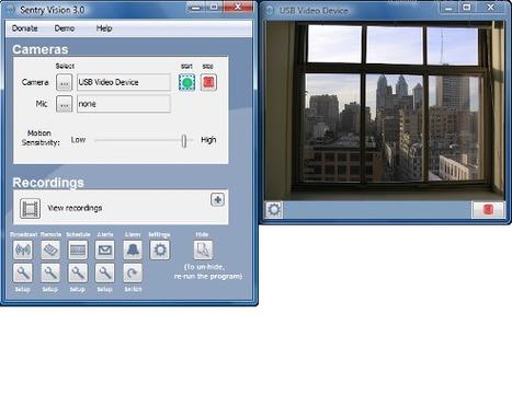 Sentry Vision Security : un nouveau logiciel gratuit de vidéo surveillance | Geeks | Scoop.it