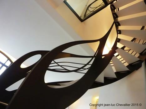 L'escalier design contemporain sublime l'Art Nouveau | Escalier Design Mobilier Contemporain de style Art Nouveau | Scoop.it
