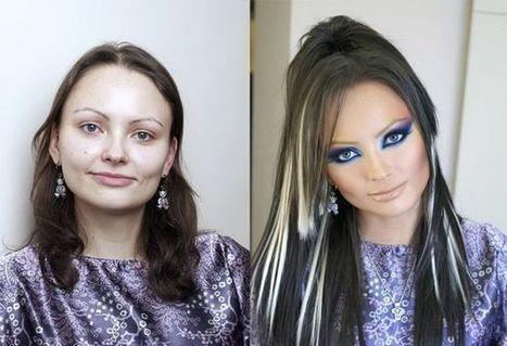 Los milagros del maquillaje profesional – Marcianos | Maquillaje profesional | Scoop.it