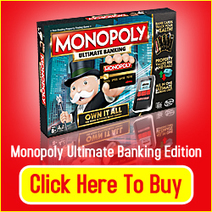 Monopoly Ultimate Banking Edition Review - Great Gift Ideas | Home and Garden | Scoop.it