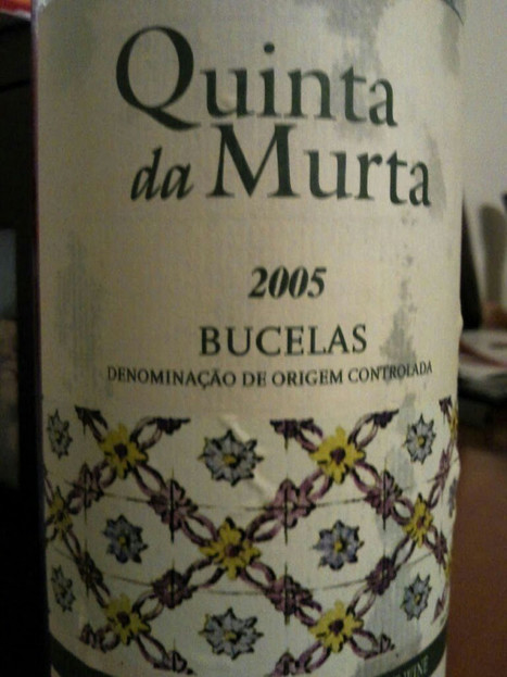 Quinta da Murta 2005 Em forma! #vinhodanoite on Twitpic | #vinhodanoite | Scoop.it