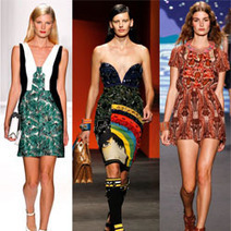 Print Dresses Go Sexy For Summer | Fashion & Style - News, Trends, Advice For The Busy Working Woman | Scoop.it