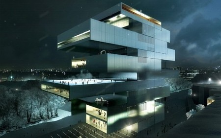 Three SHORTLISTED for Contemporary Arts Center in Moscow | The Architecture of the City | Scoop.it