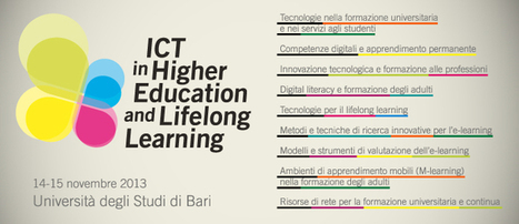Convegno SIREM 2013 – ICT in Higher Education and Lifelong ... | Media Education | Scoop.it