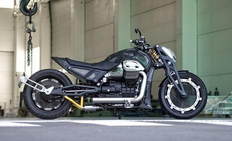 Officine Rossopuro Lvpvs Alpha | Custom bikes and Specials | Scoop.it