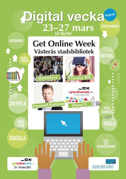 Bli digitalt delaktig på Västerås stadsbibliotek! | Seniornet Sweden | Scoop.it